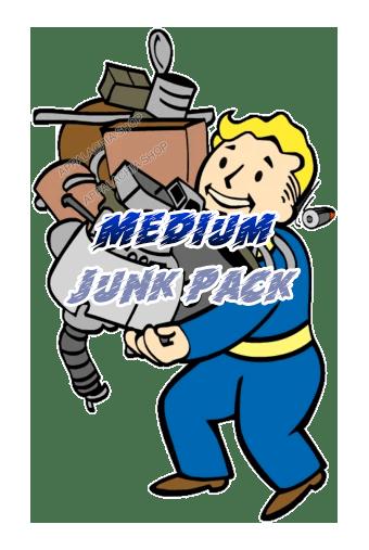 Medium junk pack [30.000 each junk + 6.000 each flux]