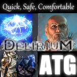 Low Life Storm Brand Hierophant [Complete Setup + Currency] [Delirium SC] [Delivery: 60 Minutes]