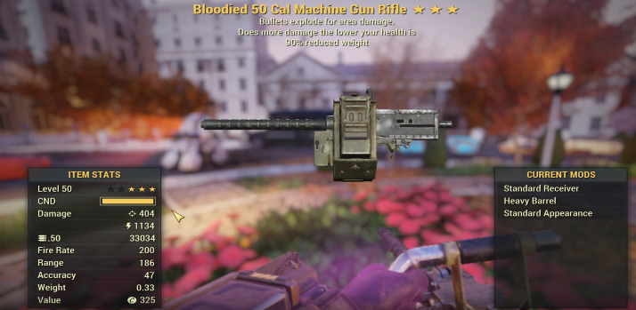 ⚡⚡⚡Bloodied Explosive .50 CAL [2.000 DAMAGE] [VIDEO DESCRIPTION]
