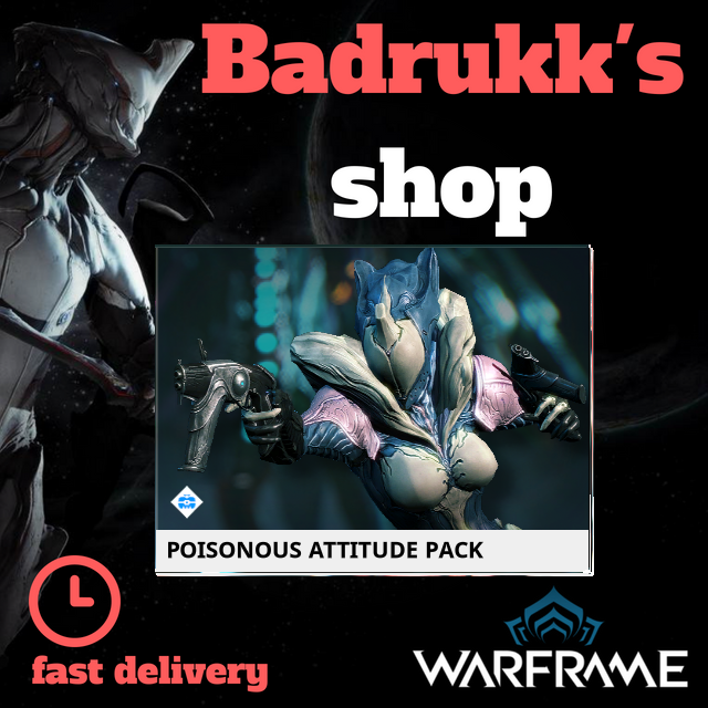 [PC/Steam] Poisonous attitude pack // Fast delivery!