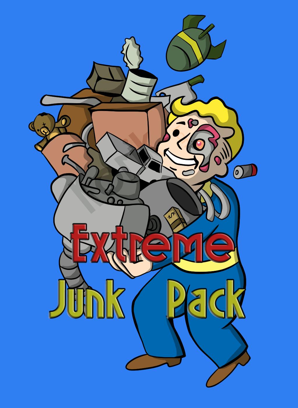 Extreme junk pack [180.000 each junk + 50.000 each flux]