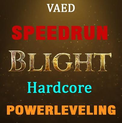 1-70 Blight Hardcore Powerleveling - Handmade fastrun - any build + labs (Not Reseller)