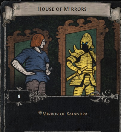 [Harvest] House of mirrors - divination card for Mirror of kalandra // instant delivery!