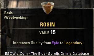 20 x Rosin  - TESO EU - RPGcash