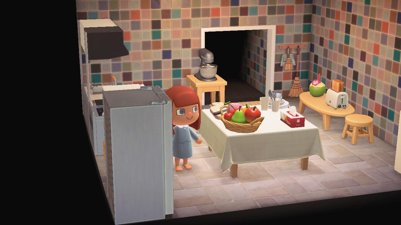 Animal Crossing New Horizons Furnitures Kitchen Room Set ... on Kitchen Items Animal Crossing  id=53179
