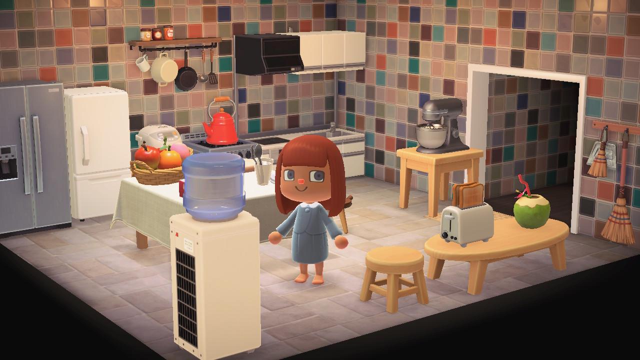 Animal Crossing New Horizons Furnitures Kitchen Room Set ...
