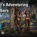 [PC-Europe] eveli's Adventuring leathers (1000 crowns) // Fast delivery!