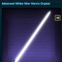 Advanced White War Hero's Crystal US