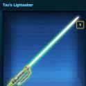 Tau's Lightsaber US