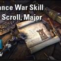 [PC-Europe] alliance war skill line scroll major (750 crowns) // Fast delivery!