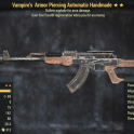 Vampire's Armor Piercing Automatic Handmade- Level 45