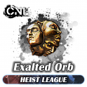 [PC] Exalted Orb - Cheaps ★★★ Heist SC ★★★ 1-5 mins Delivery