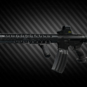 Colt M4A1 5.56x45 Assault Rifle UP