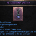 ✅NEW The Macksfesten Enneract✅100% Occult Damage | 34%Attack Gain |27 Wilp | 42Wis |48% Occ Ailment✅