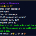 Sulfuron hammer