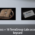 Docs + 16 TerraGroup Labs acces keycard