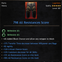 ★★★BEST PANTS 798 RES (37% transfer time, 82 agi, 120 crit hit, 33% cd) - INSTANT DELIVERY★★★