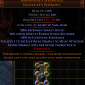 Legacy SIX LINK Shavronnes Wrapping (400 energy shield) with +2 Vaal Skill Gems corruption