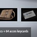 4 Docs + 64 acces keycards