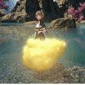 Mount: Sunspun Cumulus (Single Character)--FFXIV All Servers