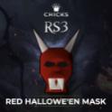 Red Hallowe'en Mask[FAST DELIVERY]