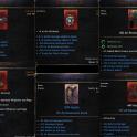Group of set + catalyst + pierce amulet and belt