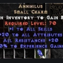 Project Diablo 2 ★★★ Annihilus HIGH ROLL (50+/12+/12+/7+) ★★★  Instant Delivery
