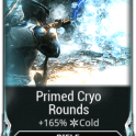 [Max Rank] Primed Bane of Corpus / Primed Cryo Rounds /Primed Bane of Grineer/ Primed Heated Charge