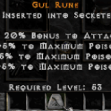 gul rune project diablo 2, cheap and fast delivery!
