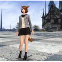 Collegiate Attire (Skirt)  (All Servers)
