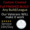 3.10 Fully Customized Build! Whichever Build you want - Customized to your Budget & Needs.