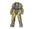 [PC] X-01  Power Armor with Mods (45lvl / 6 parts, list of mods in offer detais) - Fast Deliver