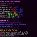 >>>Warden Helmet (mythic rare, +40/20 potatos, wisdom 5)<<<