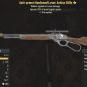 Anti-armor Hardened Lever Action Rifle- Level 45