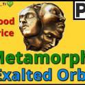 [PC] Exalted Orb ★ M etamorph SC ★ Instan t delivery ★ discoun ts!