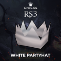 White Partyhat  [FAST DELIVERY]