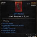 Mage Set 2604 Health Gauntlet/Hand/Glove, 45% Occult Damage, 39% Power Decrease, 85 Toughness,
