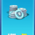 20% OFF for 2800 V-Bucks $24.99USD Pack Top Up - All Platform Available