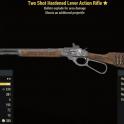 Two Shot Hardened Lever Action Rifle - Level 45