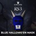 Blue Hallowe'en Mask[FAST DELIVERY]