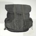 Plan: Black cloth backpack