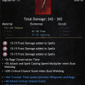 ★ PERFECT ELEMENTAL 365 DAMAGE DAGGER  ★ GREAT FOR ARTIC SPEAR OR OTHER ELEMENTAL BUILDS ★