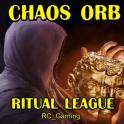 ✅ Selling Chaos Orb on Ritual Standard (PC) (1-5 min Delivery)/Discounts ✅