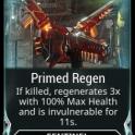 (PC) Primed regen MAXED mod (MR 2) // Fast delivery!