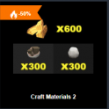 Craft Materials Pack2 - Fast delivery 24/7 online Cheap Animal Crossing items
