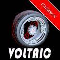 VOLTAIC - RL Exotic  Wheels - CRIMSON PAI NTED / non certified
