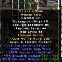 Valkyrie wing (+2 skill)