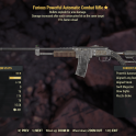 ★★★ Furious Explosive Automatic Combat Rifle | 15% Faster Reload | FAST DELIVERY |