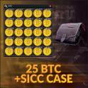 SICC + 25 BITCOIN