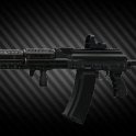 AK-74M 5.45x39 assault rifle